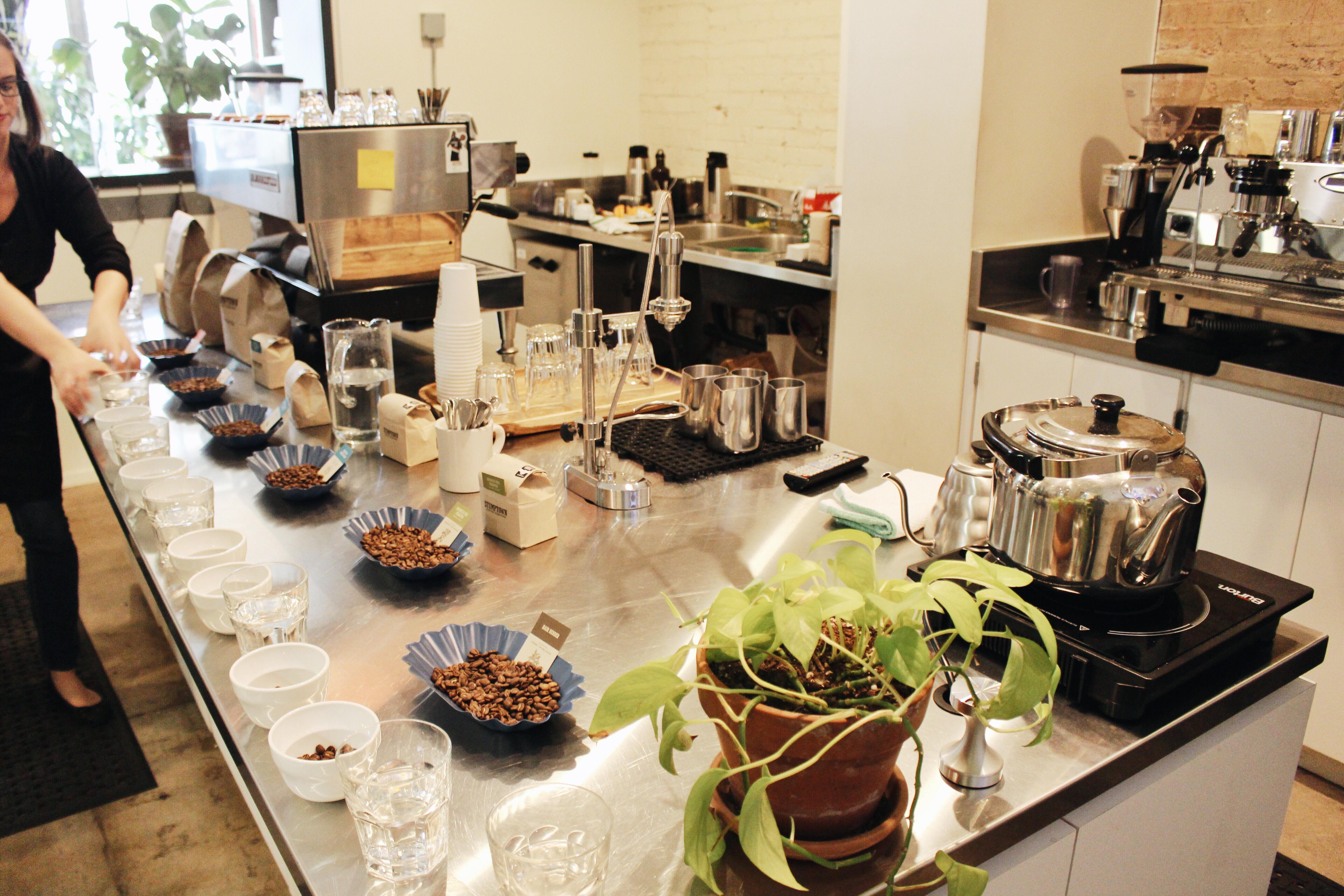 Coffee 101 Stumptown Coffee Cupping – Daily Coffee Run
