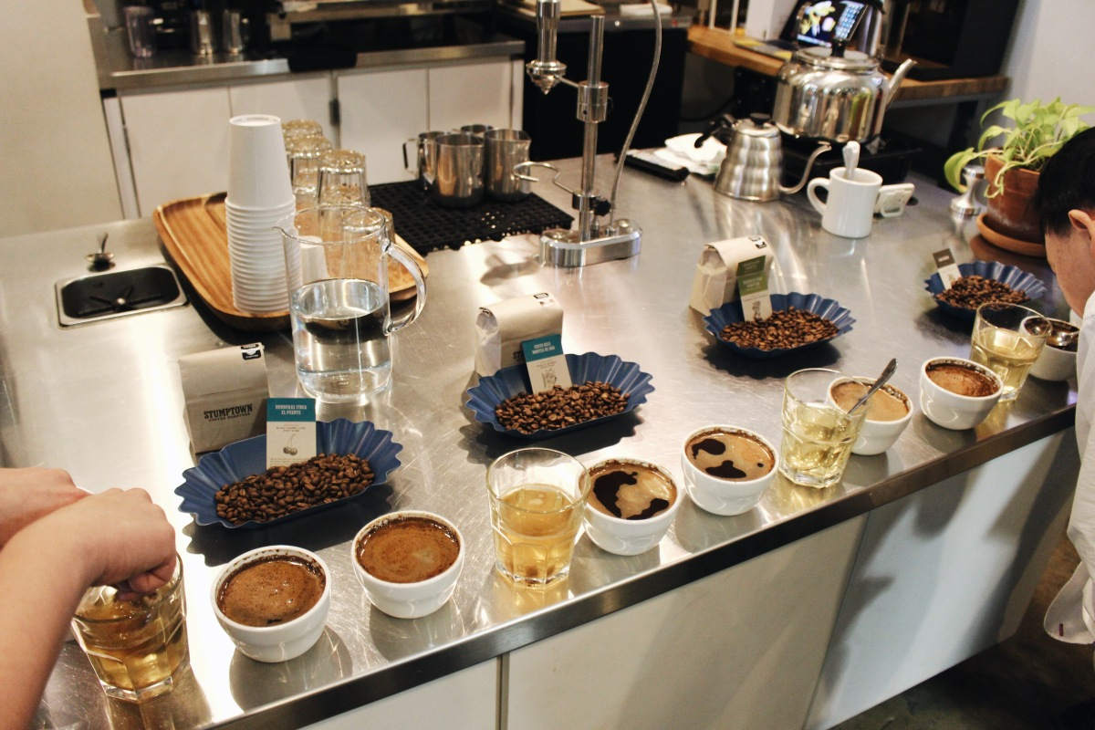 Coffee 101: Stumptown Coffee Cupping